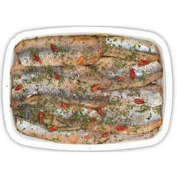 Marinated Herring Filets 200g (Chilled)