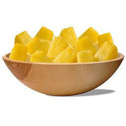 Pineapple Chunks 1kg (LIKE FRESH) FROZEN