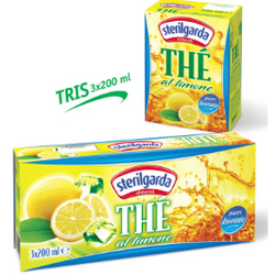 Lemon Tea Drink 200ml x 3 STERILGARDA - Good Food