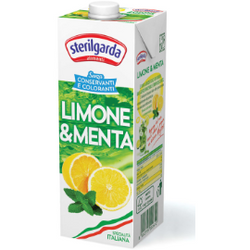 Mint & Lemon Soft Drink 1 Lt STERILGARDA - Good Food