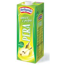 Pear Nectar Juice 1 Lt STERILGARDA - Good Food