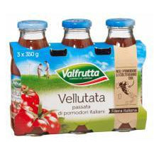 "Tomato ""Vellutata""Puree / Sauce 350 ml x 3 Bottles"