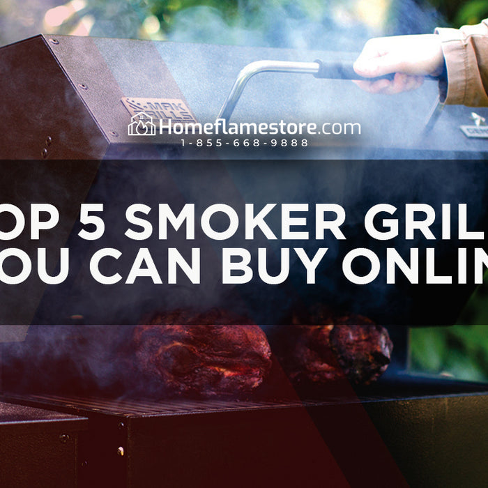 Top 5 Smoker Grills you can buy online