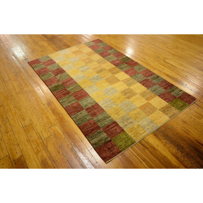 Unique Loom Modern Ziegler 2163628 Gold Rug