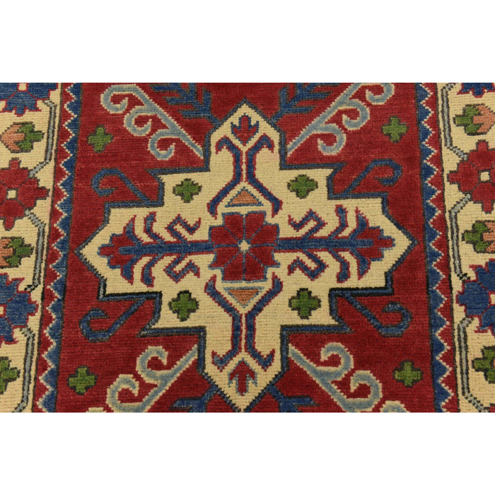Unique Loom Kazak 2301995 Red Rug