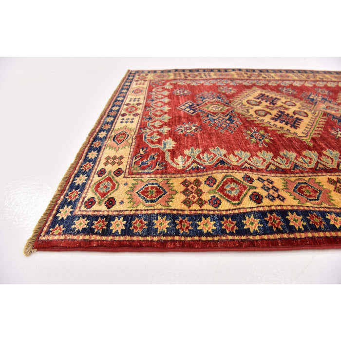 Unique Loom Kazak 2312980 Red Rug