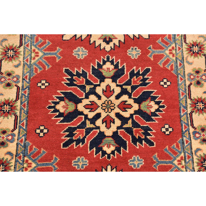 Unique Loom Kazak 2314022 Red Rug