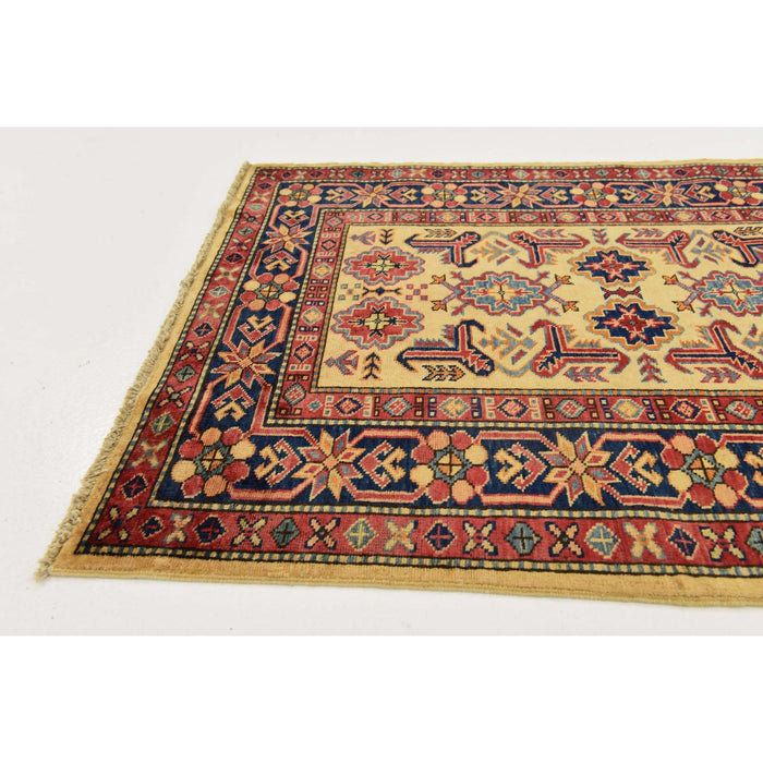 Unique Loom Kazak 2321396 Cream Rug