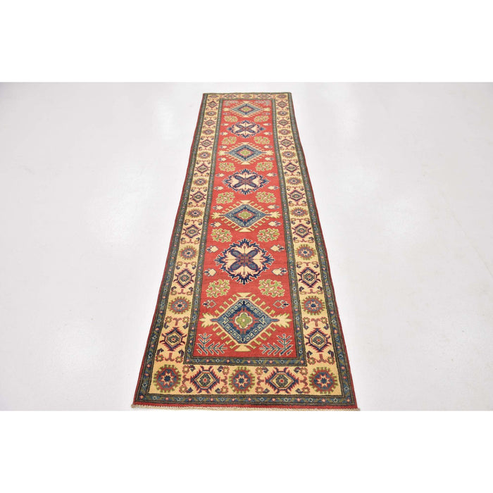 Unique Loom Kazak 2383211 Red Rug