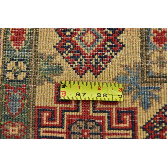 Unique Loom Kazak 2386619 Red Rug
