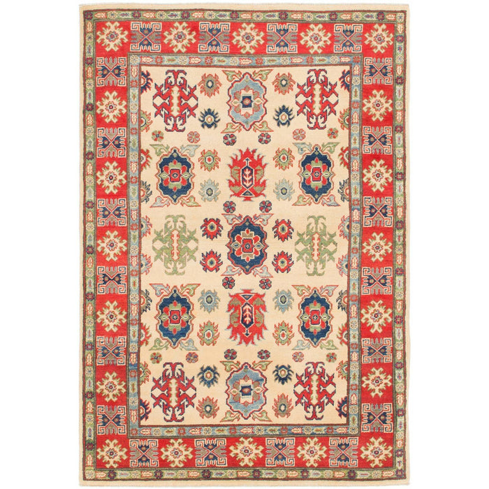 Unique Loom Kazak 2387362 Cream Rug