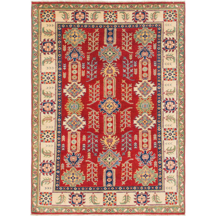 Unique Loom Kazak 2387379 Red Rug