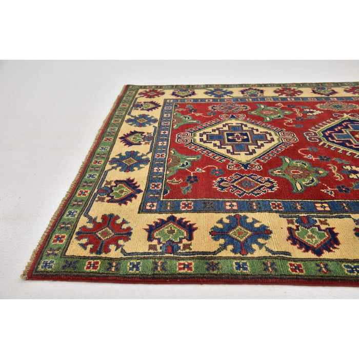 Unique Loom Kazak 2394180 Red Rug