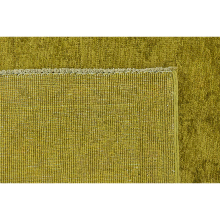 Unique Loom Over-Dyed Ziegler 2442391 Olive Rug