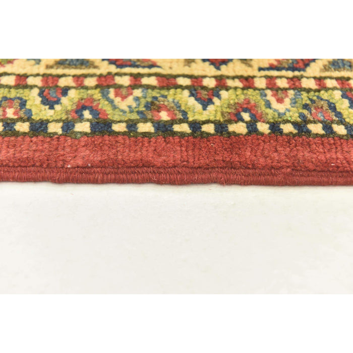 Unique Loom Kazak 2548864 Red Rug