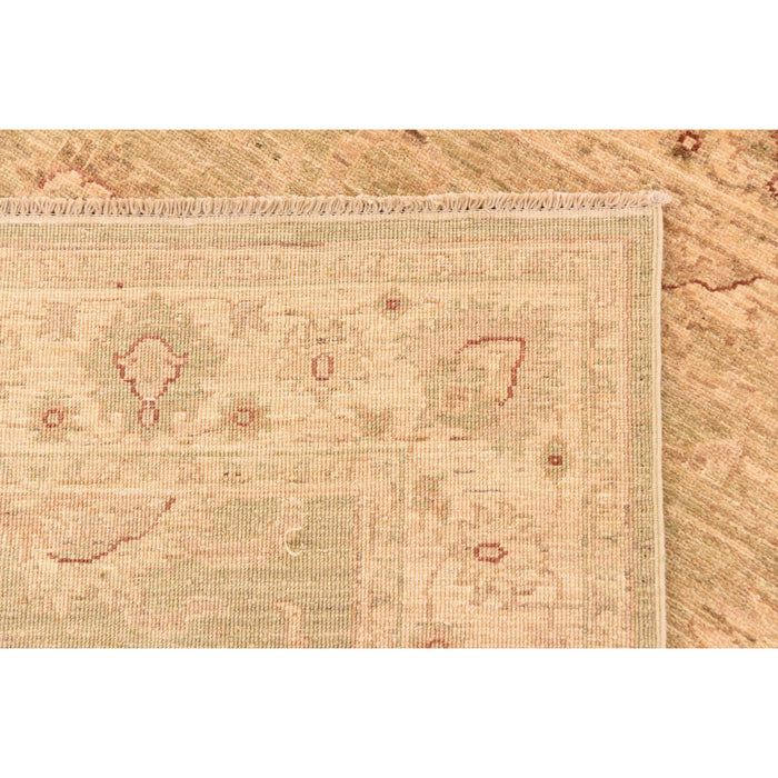 Unique Loom Over-Dyed Ziegler 2549610 Beige Rug