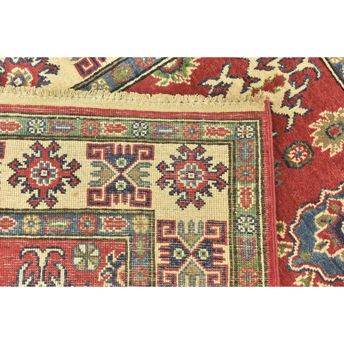 Unique Loom Kazak 2550077 Red Rug