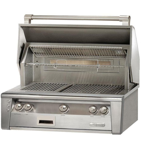 Alfresco 36-inch LXE Built-In Gas BBQ Grill with Sear Zone Natural Gas ALXE-36SZ-NG-Alfresco-Homeflamestore.com