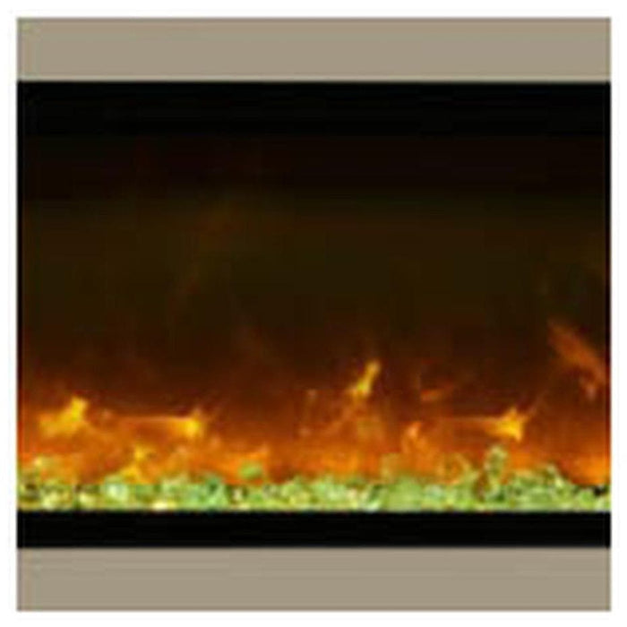 "Amantii Fireplaces Amantii SYM-34-SURR-BRON 34"" Bronze Surround SYM-34-SURR-BRON"