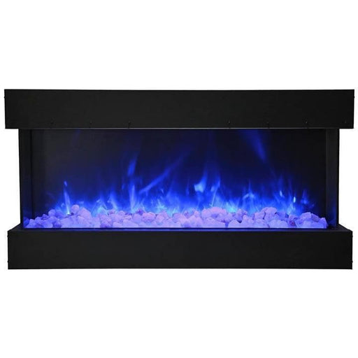 "Amantii Fireplaces Amantii 50-TRU-VIEW-XL 50"" 3 sided glass electric fireplace Built-in only 50-TRU-VIEW-XL 182849000882"