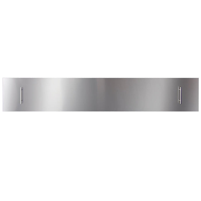 "Amantii Fireplaces Amantii PAN-COV-88 Stainless steel cover for 88"" SLIM or DEEP fireplace - Mandatory for Outdoor Models PAN-COV-88 182849000752"