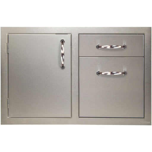 Artisan 32-Inch Access Door And Double Drawer Combo ARTP-DDC-32SC-Artisan-Homeflamestore.com