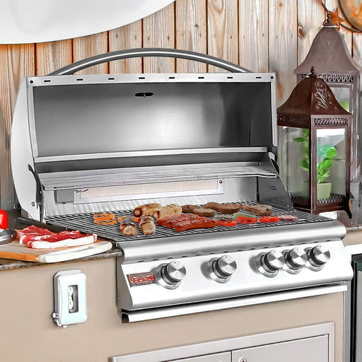 Blaze Outdoor Grills Blaze BLZ-4LTE-NG  4 Burner LTE Grill Built-In Natural Gas Grill with Lights BLZ-4LTE-NG 818718011863