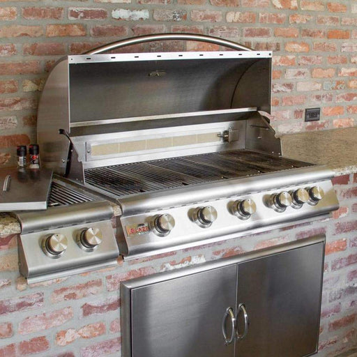 Blaze Outdoor Grills Blaze BLZ-5-NG  40 Inch 5-Burner Built-In Natural Gas Grill With Rear Infrared Burner BLZ-5-NG 818718010040