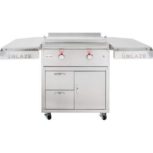 Blaze Outdoor Grills Blaze BLZ-GRIDDLE-LTE-NG  Built-in Natural Gas Griddle with Lights BLZ-GRIDDLE-LTE-NG 818718012143