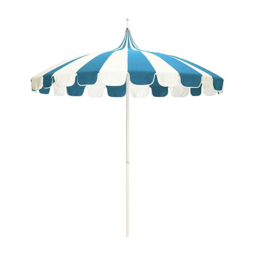 California Umbrella 8.5' Pagoda Series Patio Umbrella With Aluminum Pole Steel Wire Ribs Push Lift With Sunbrella-California Umbrella-Homeflamestore.com