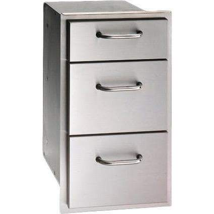 Fire Magic 14 Inch Triple Drawer 33803-Fire Magic-Homeflamestore.com