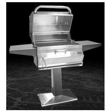Fire Magic Outdoor Grills Fire Magic 22-SC01C-P6 CHARCOAL PATIO POST MOUNT GRILL 22-SC01C-P6 61965503816