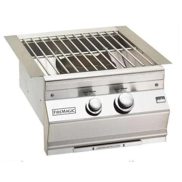 Fire Magic Outdoor Grills Fire Magic  19-KB1P-0  Classic Built-In Propane Gas Power Burner W/ Stainless Steel Grid 19-KB1P-0