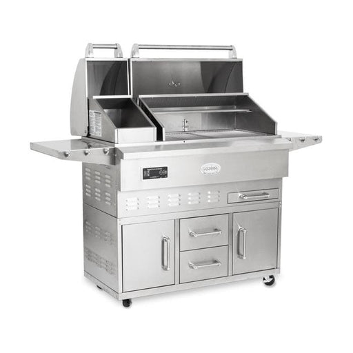 Louisiana Grills Outdoor Grills Louisiana Grills 60860 LG Estate 860C Stainless Steel Pellet Grill 60860 684678080702