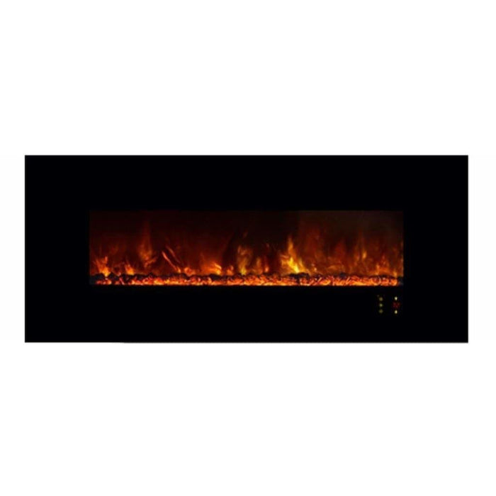 "Modern Flames Fireplaces Modern Flames AL80CLX2-G 80"" AMBIANCE CLX2 WALL MOUNT/ RECESSED 4"" DEEP - 62"" x 10"" VIEWING AL80CLX2-G"