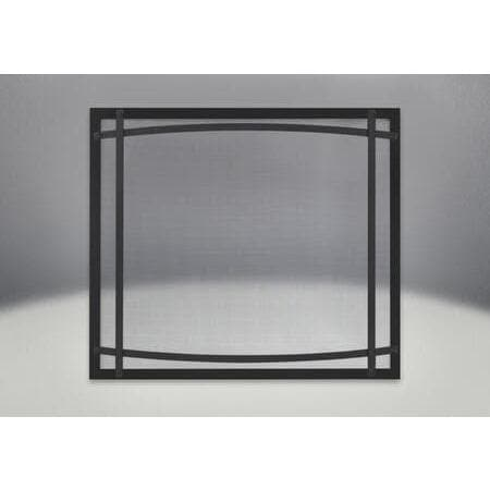 Napoleon Black Safety Barrier with Curved Accents DC35K-Napoleon-Homeflamestore.com