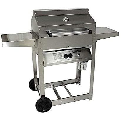 Phoenix Riveted Stainless Steel Grill - Natural Gas SDRIV4LDD-N-Phoenix-Homeflamestore.com