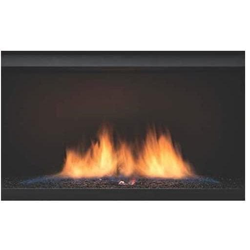 "Sierra Flame Fireplaces Sierra Flame PALISADE-36-DELUXE-NG 36"" Natural Gas DELUXE See-thru direct vent linear  Electric fireplace PALISADE-36-DELUXE-NG 628451612117"