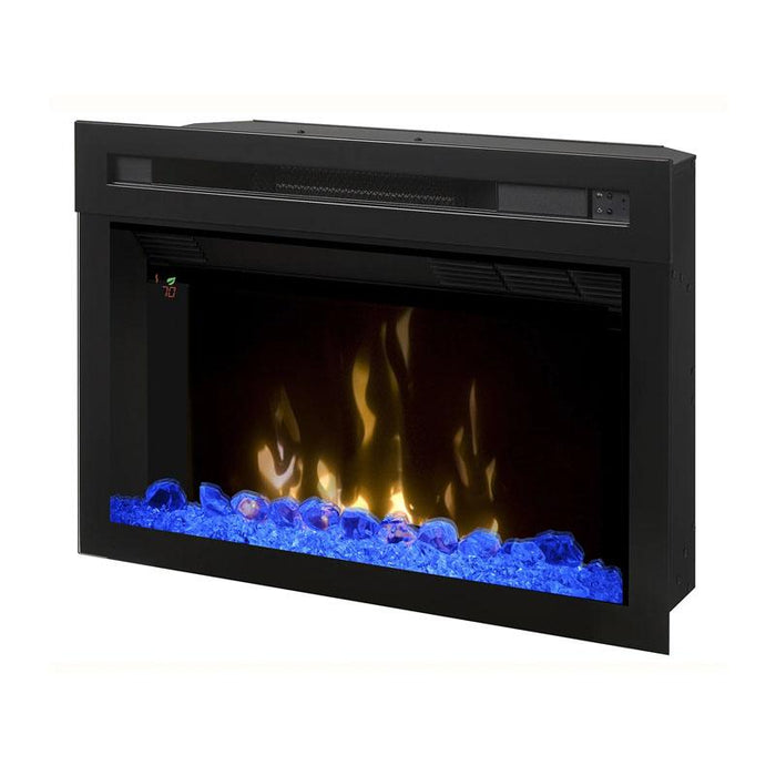 "Dimplex Electric Firebox With Glass Ember Rocks 25"" Multi-Fire XD - PF2325HG"