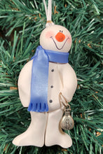 Load image into Gallery viewer, Banker Snowman Tree Ornament