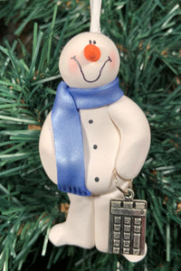 Bookkeeper Snowman Tree Ornament