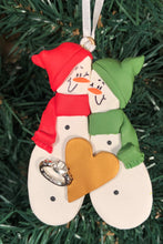 Load image into Gallery viewer, Couples Engaged Tree Ornament