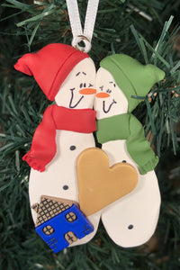 Couples New Home Tree Ornament