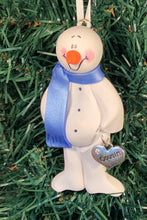 Load image into Gallery viewer, Cousin Snowman Tree Ornament