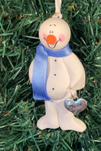 Load image into Gallery viewer, Daddy Snowman Tree Ornament