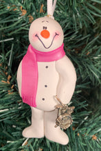 Load image into Gallery viewer, Drums Snowman Tree Ornament