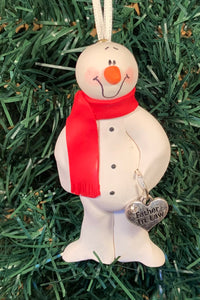 Father In Law Snowman Tree Ornament