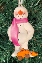 Load image into Gallery viewer, Front End Loader Snowman Tree Ornament