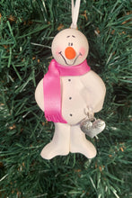 Load image into Gallery viewer, God Daughter Snowman Tree Ornament