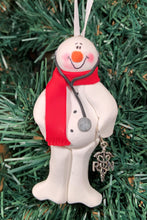 Load image into Gallery viewer, Registered Nurse(RN) Snowman Tree Ornament